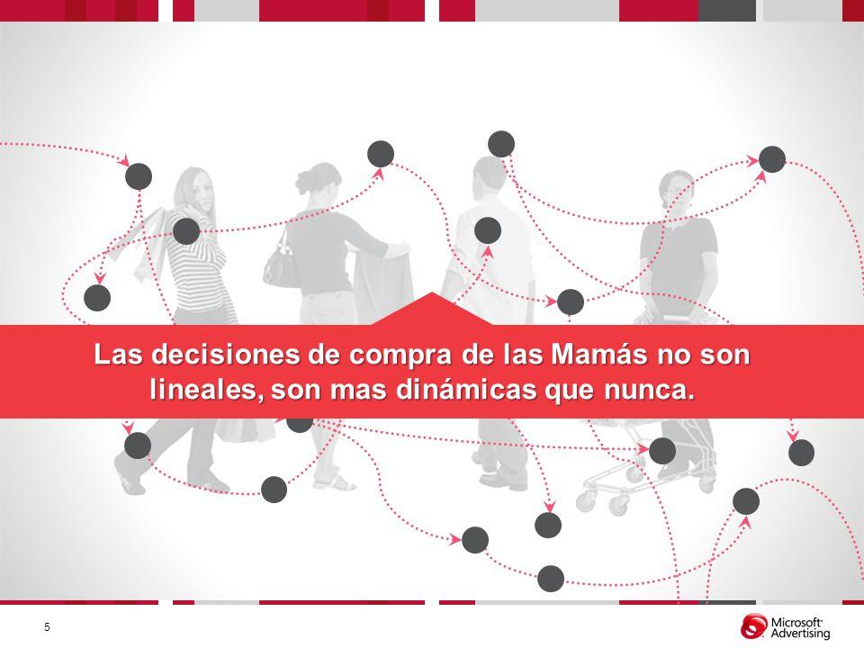 Las decisiones de compra de las Mamás no son lineales, son mas dinámicas que nunca.