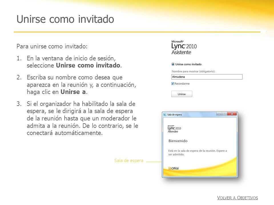 Unirse como invitado Para unirse como invitado: