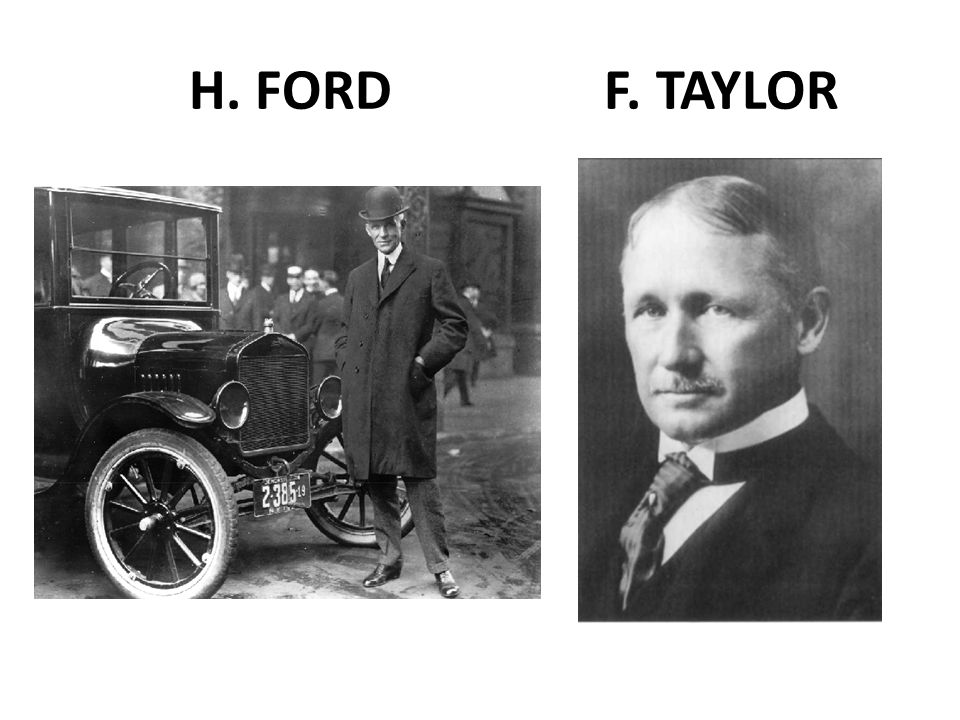 H. FORD F. TAYLOR