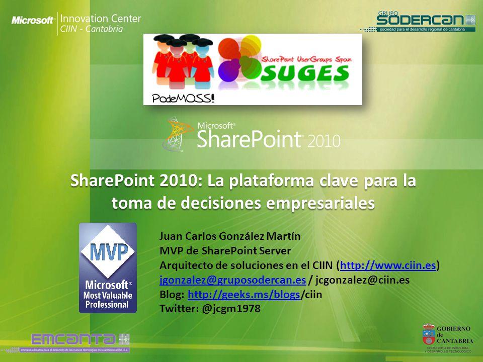 SharePoint 2010: La plataforma clave para la toma de decisiones empresariales