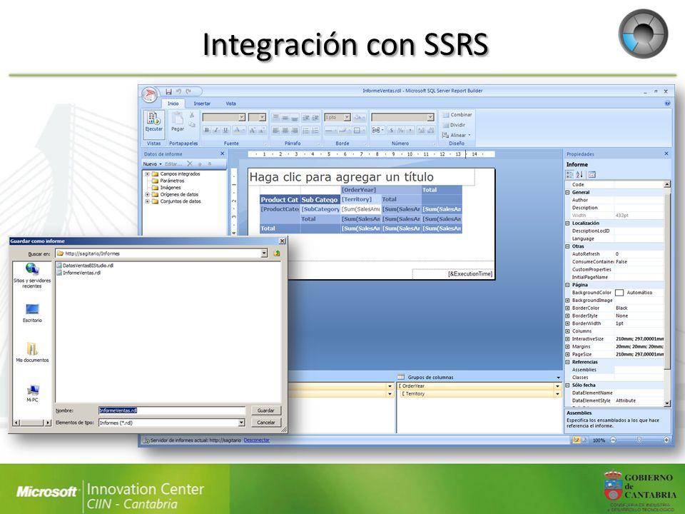 Integración con SSRS