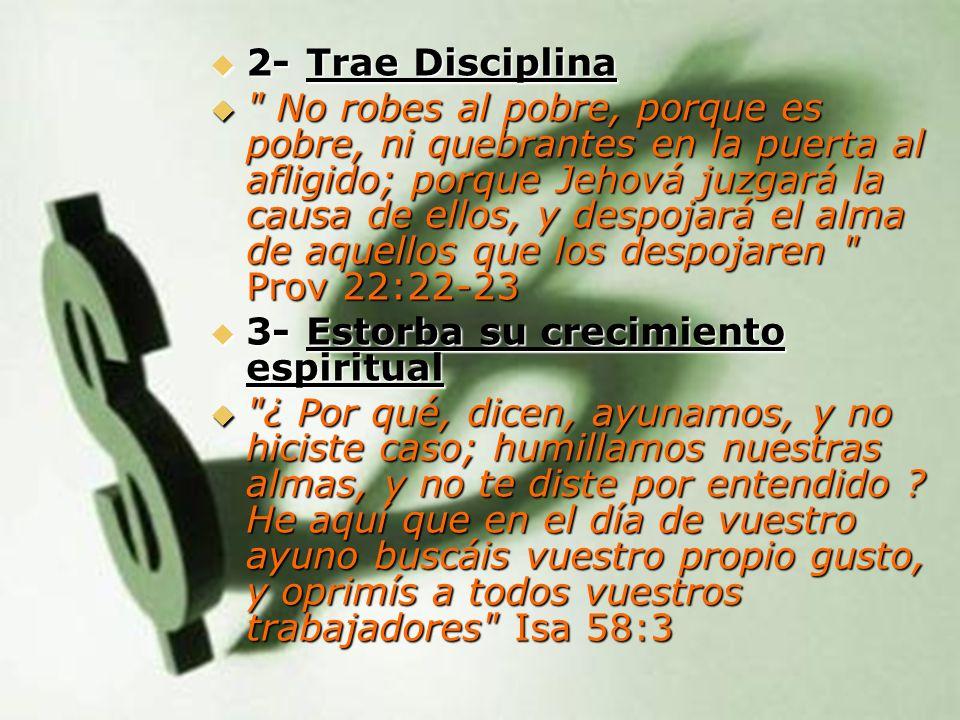 2- Trae Disciplina