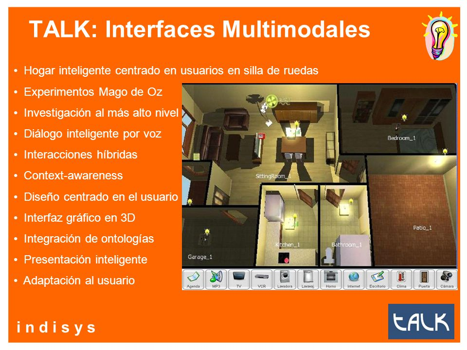 TALK: Interfaces Multimodales