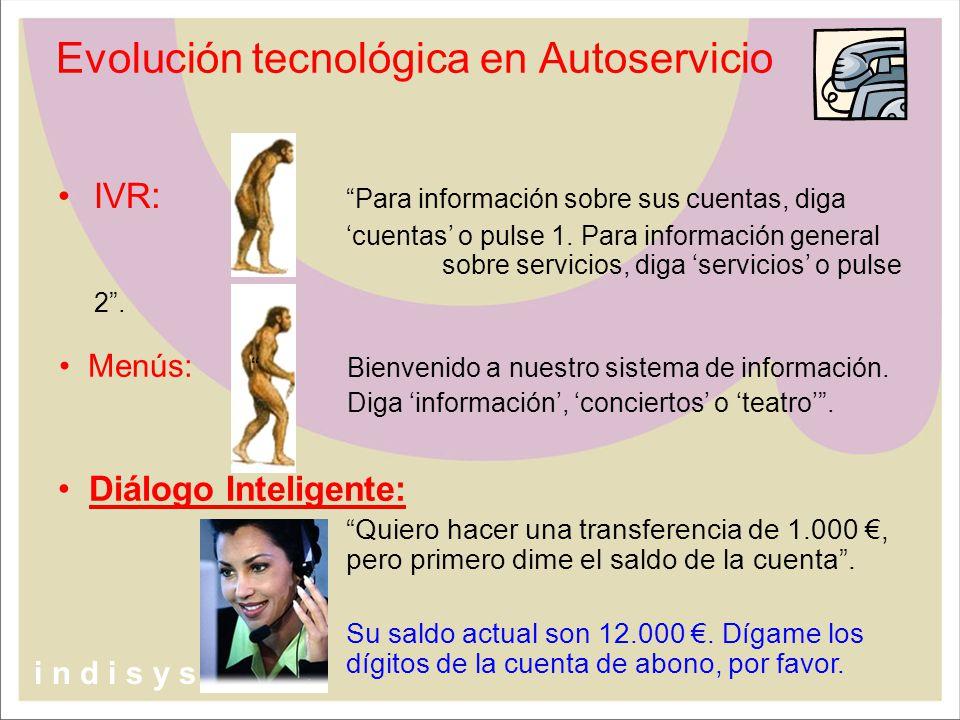 Evolución tecnológica en Autoservicio