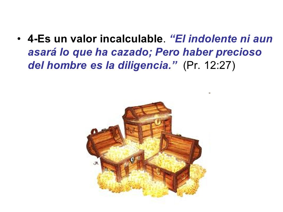 4-Es un valor incalculable