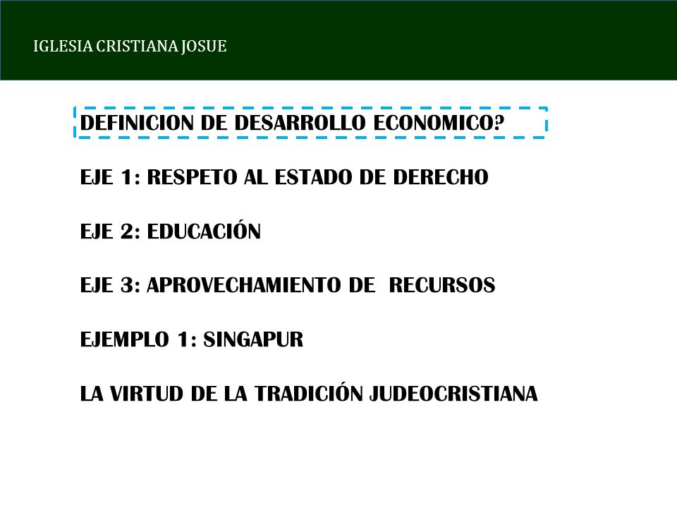 DEFINICION DE DESARROLLO ECONOMICO