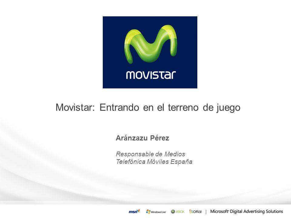Movistar: Entrando en el terreno de juego