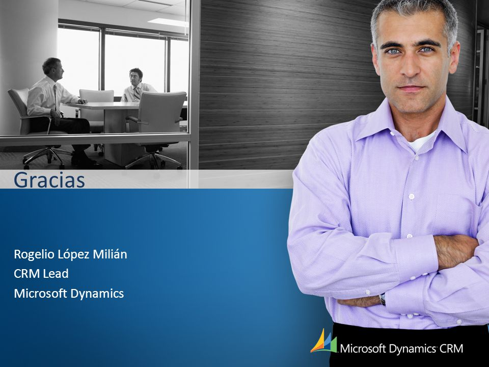 Rogelio López Milián CRM Lead Microsoft Dynamics