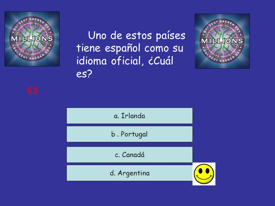 Uno de estos países tiene español como su idioma oficial, ¿Cuál es