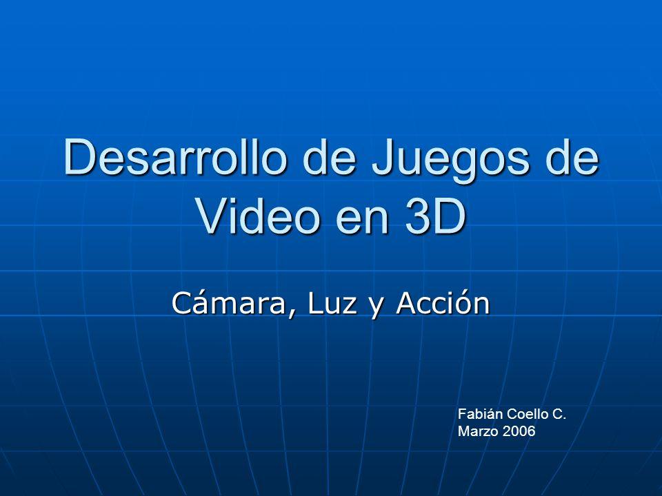 Desarrollo de Juegos de Video en 3D