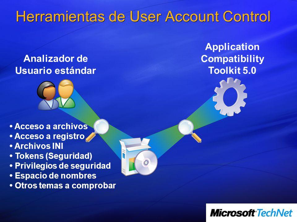 Herramientas de User Account Control