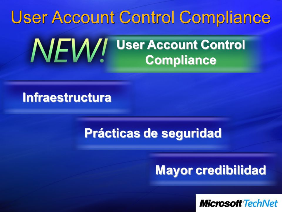 User Account Control Compliance
