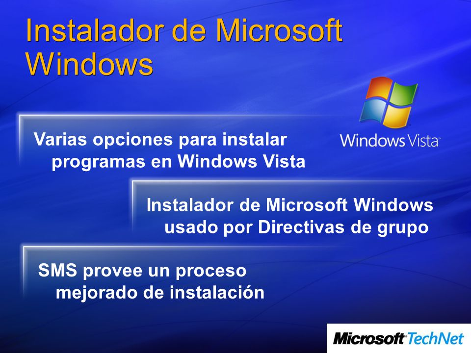 Instalador de Microsoft Windows