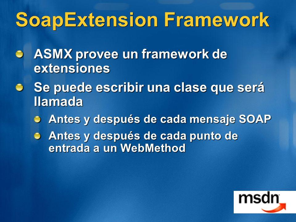 SoapExtension Framework