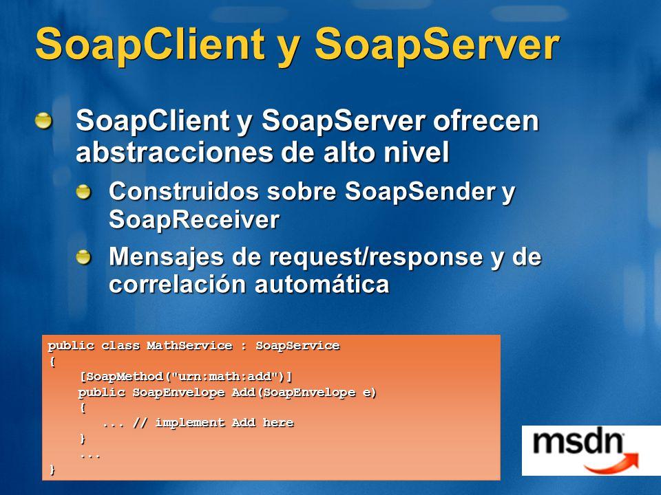 SoapClient y SoapServer