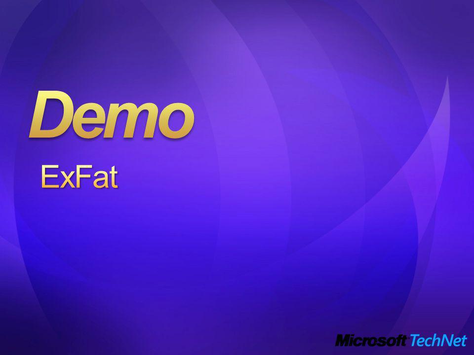 Demo ExFat