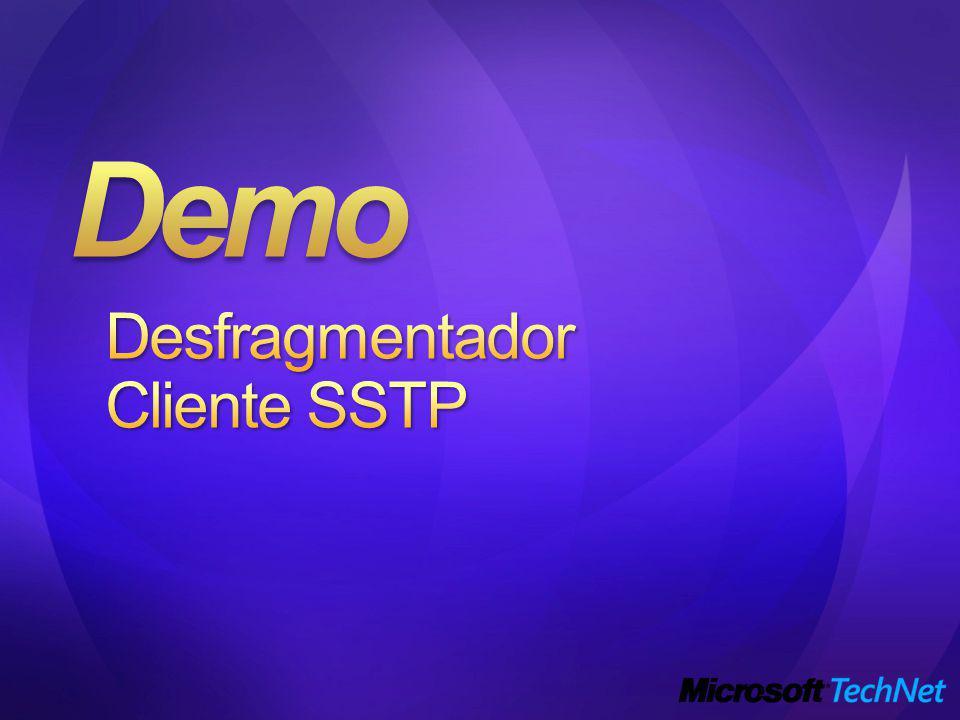 Demo Desfragmentador Cliente SSTP