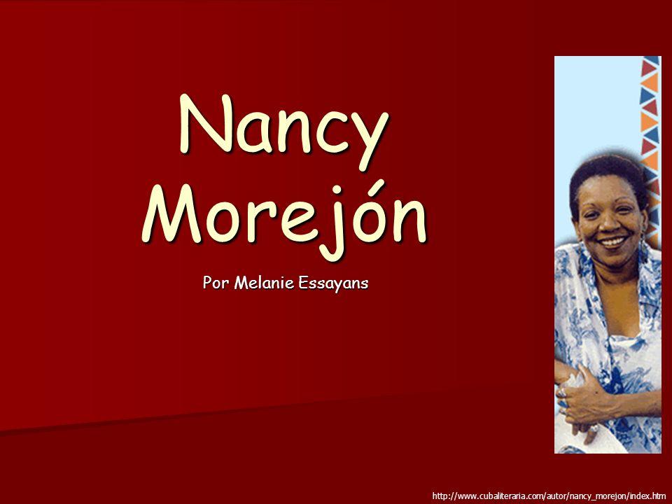Nancy Morejón Por Melanie Essayans