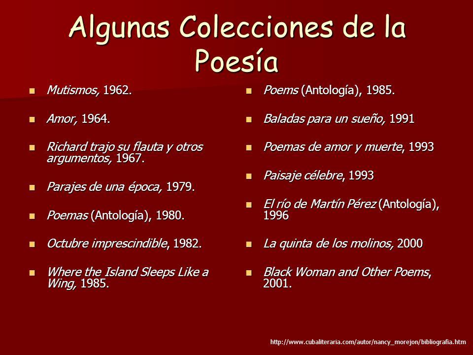 Algunas Colecciones de la Poesía