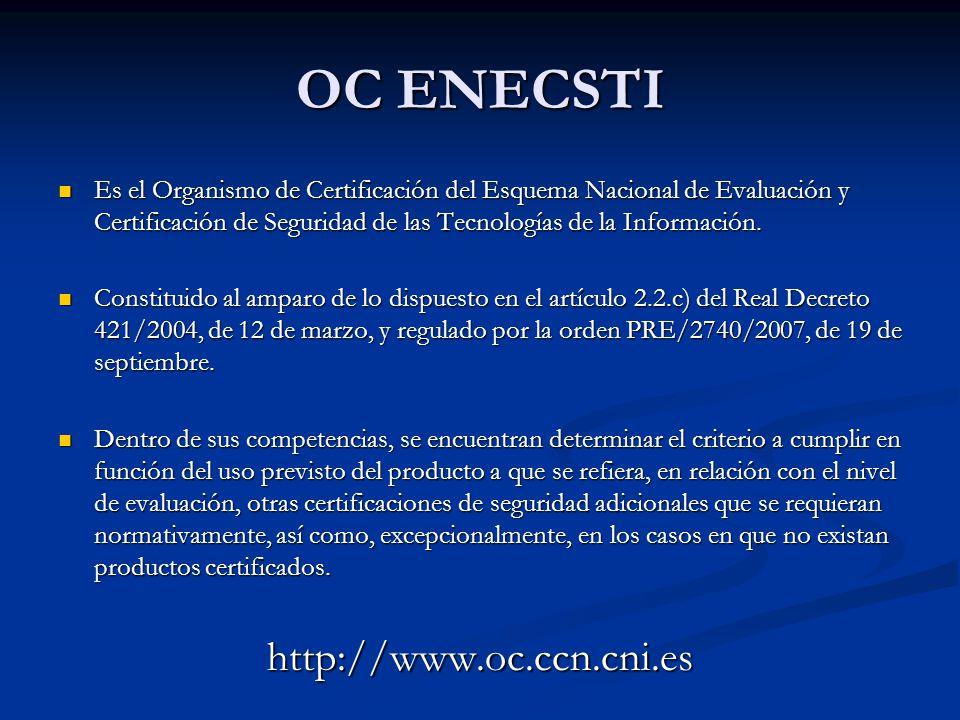 OC ENECSTI http://www.oc.ccn.cni.es