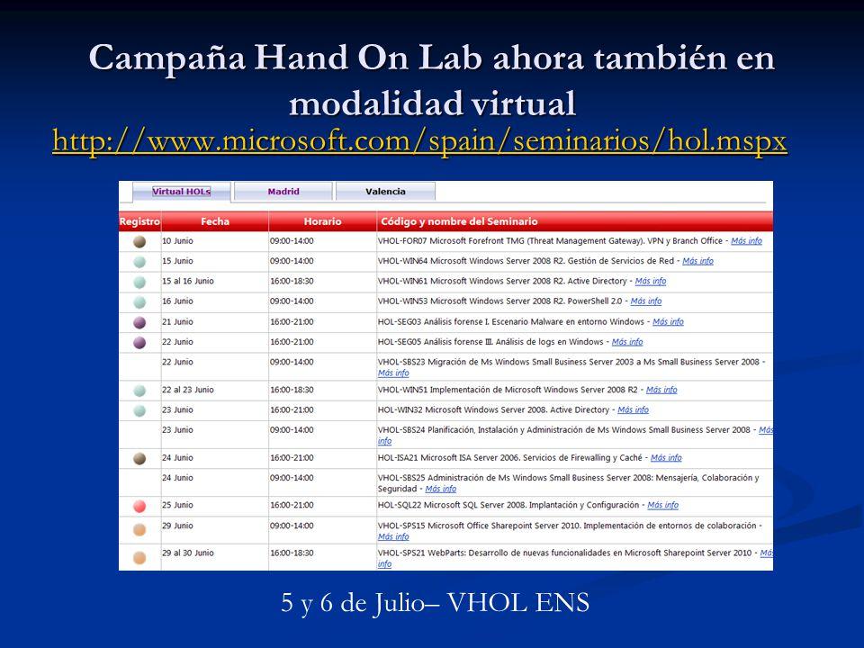 Campaña Hand On Lab ahora también en modalidad virtual