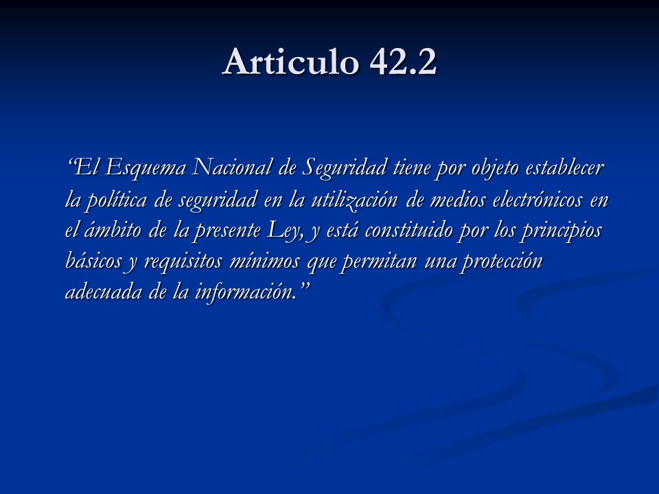Articulo 42.2