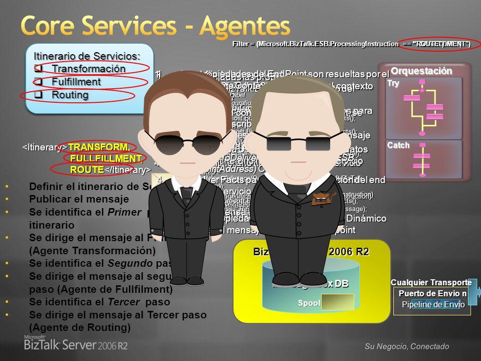Core Services - Agentes