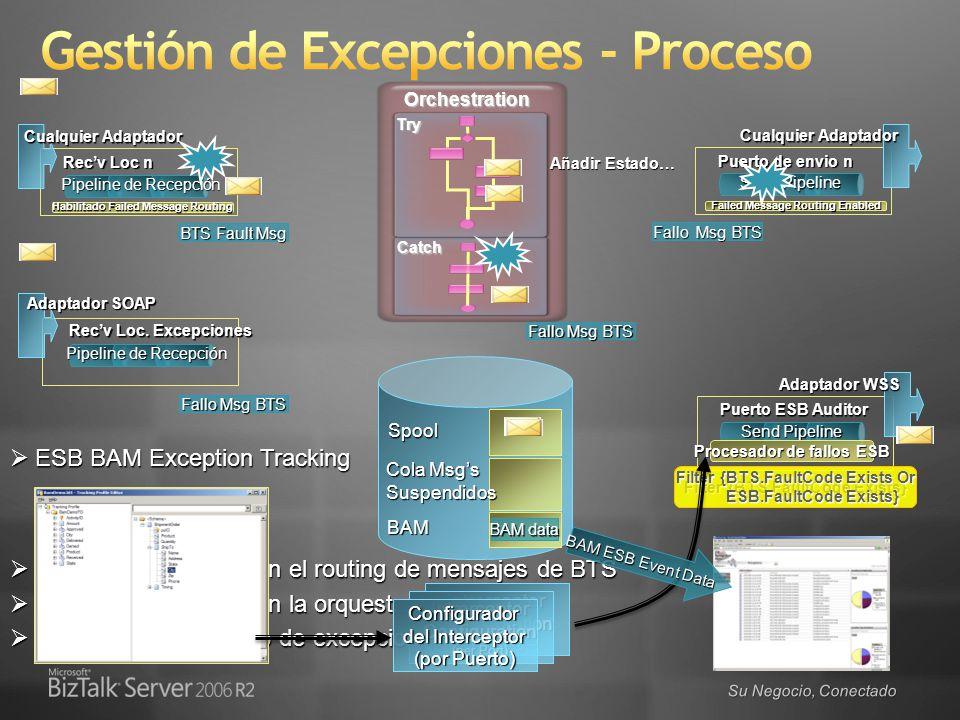 Gestión de Excepciones - Proceso