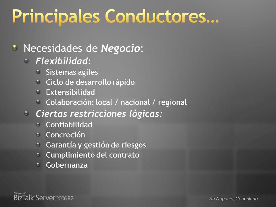 Principales Conductores…