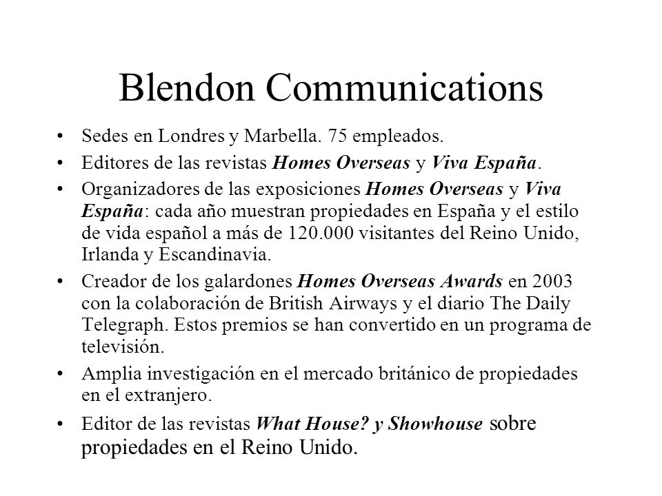 Blendon Communications