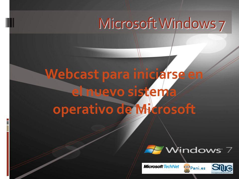 Webcast para iniciarse en el nuevo sistema operativo de Microsoft