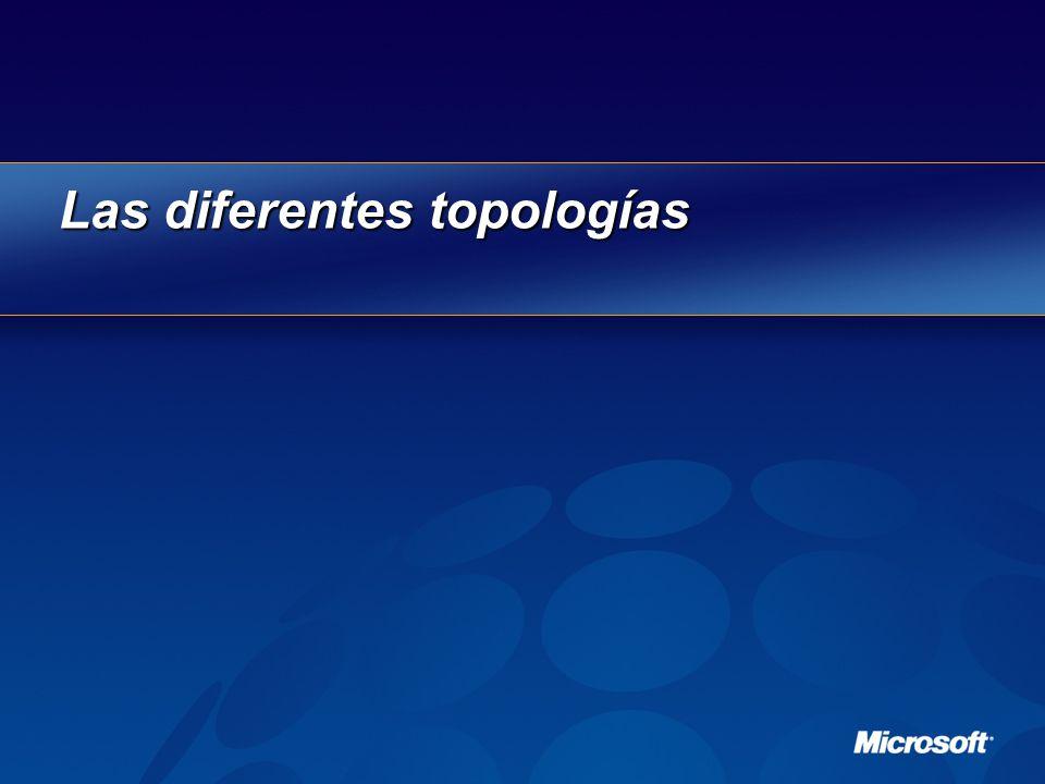 Las diferentes topologías