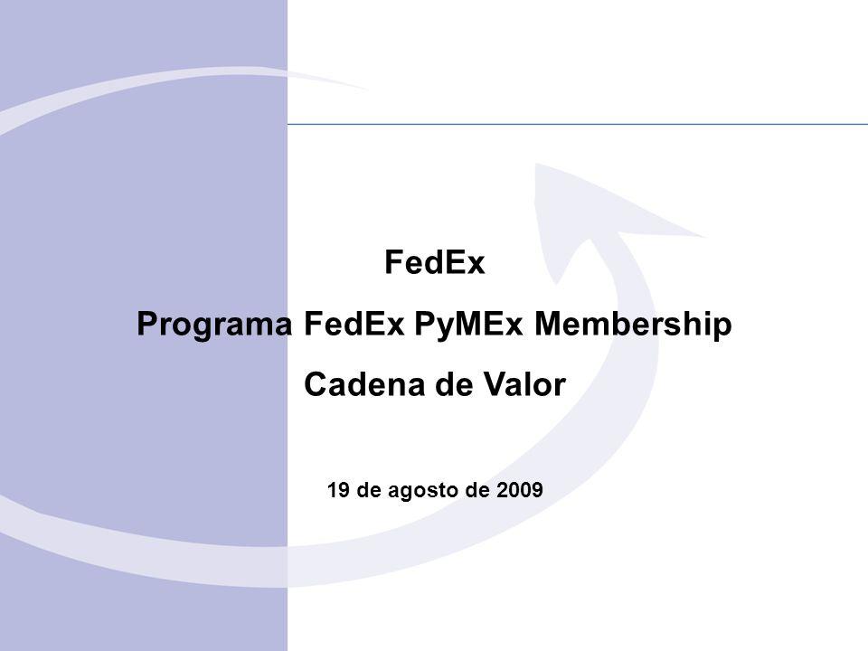 Programa FedEx PyMEx Membership