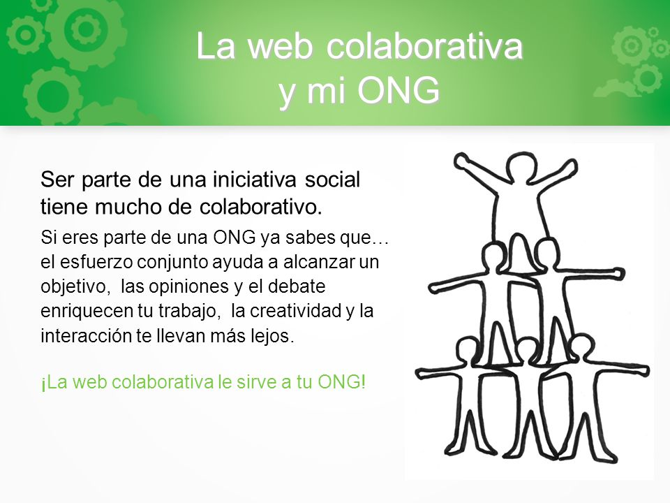 La web colaborativa y mi ONG