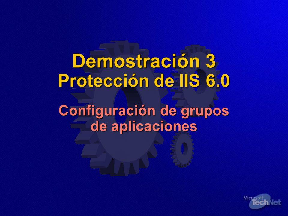 Demostración 3 Protección de IIS 6