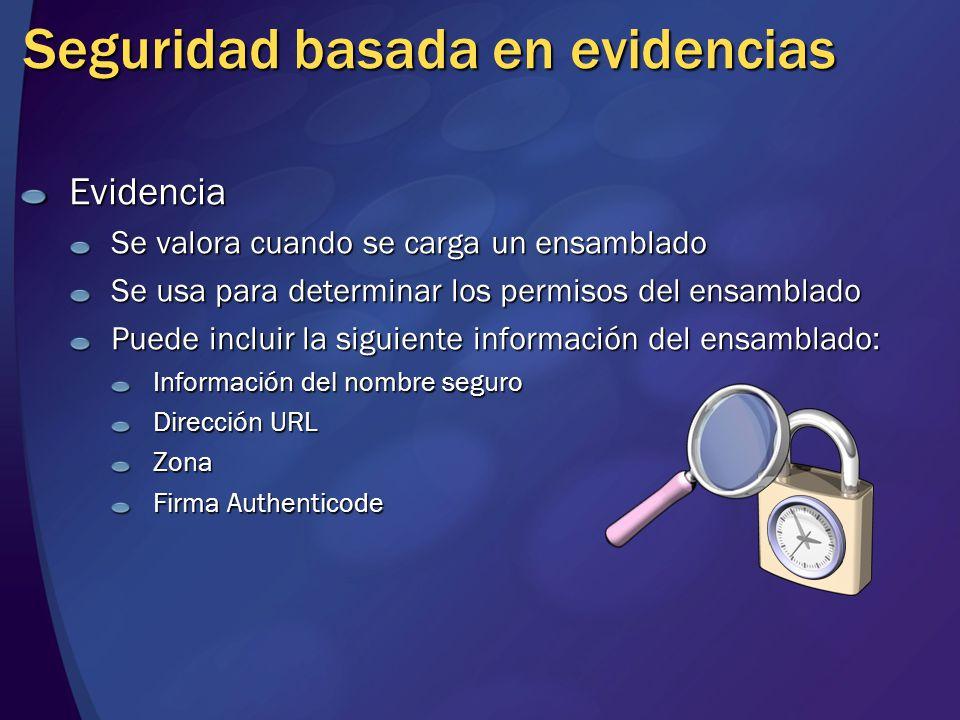 Seguridad basada en evidencias