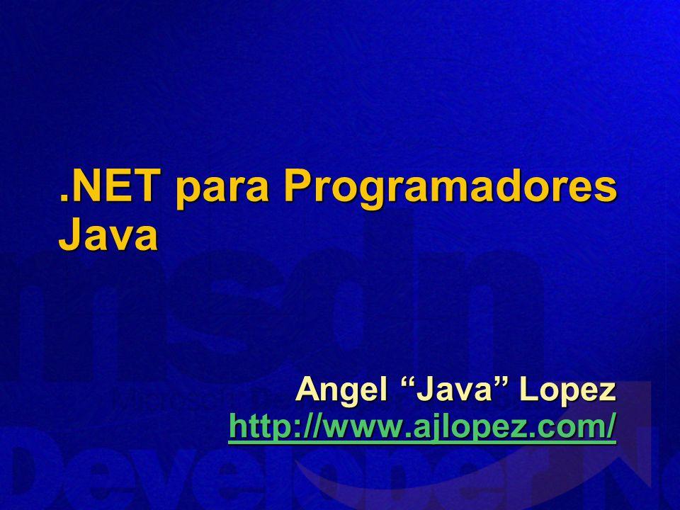 .NET para Programadores Java
