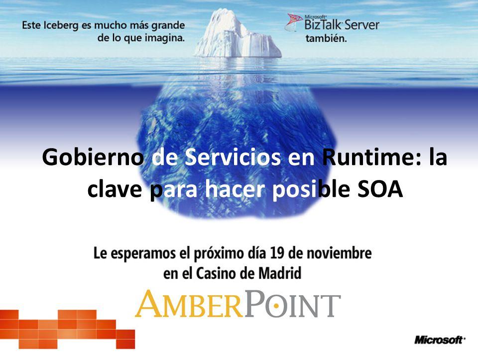 Gobierno de Servicios en Runtime: la clave para hacer posible SOA