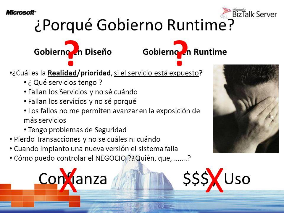 ¿Porqué Gobierno Runtime