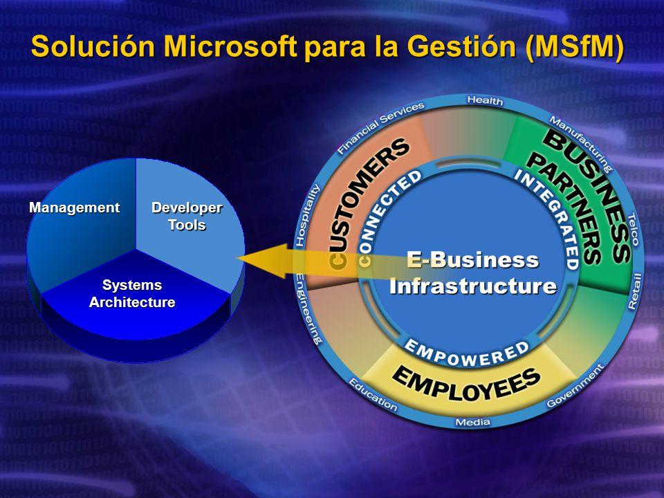 Solución Microsoft para la Gestión (MSfM)