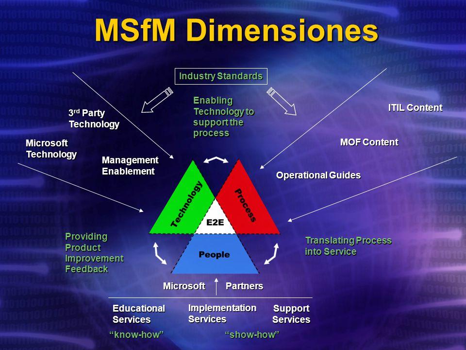 MSfM Dimensiones Industry Standards