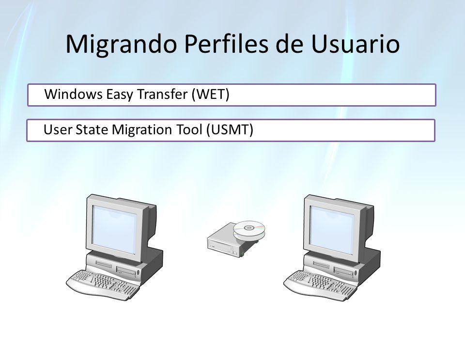 Migrando Perfiles de Usuario