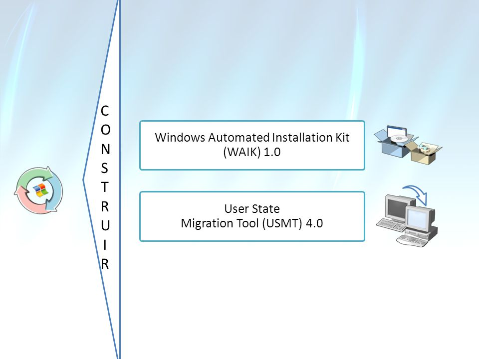 CONSTRUIR Windows Automated Installation Kit (WAIK) 1.0