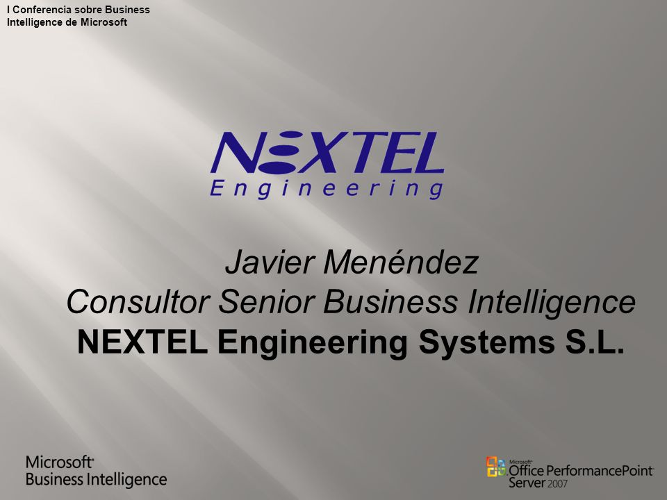 NEXTEL Engineering Systems S.L.