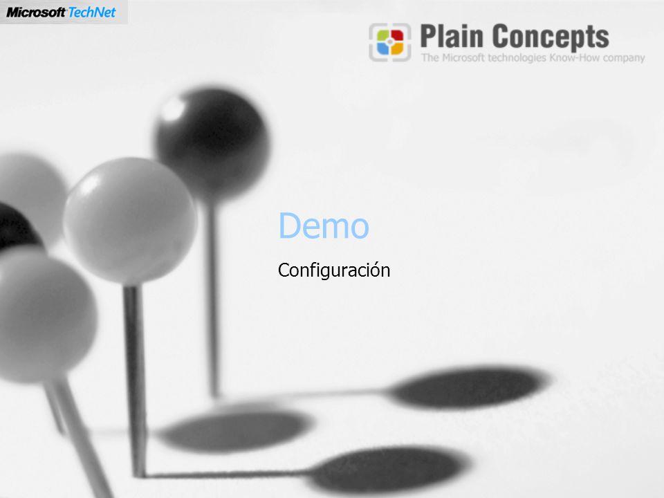 Demo Configuración