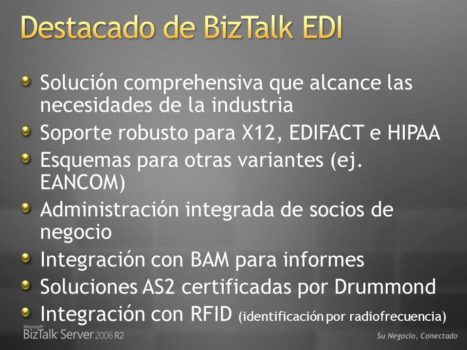 Destacado de BizTalk EDI