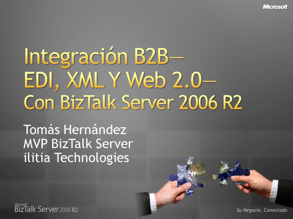 Integración B2B— EDI, XML Y Web 2.0— Con BizTalk Server 2006 R2
