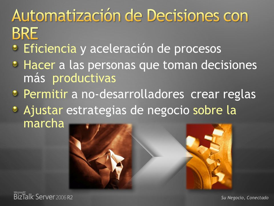 Automatización de Decisiones con BRE