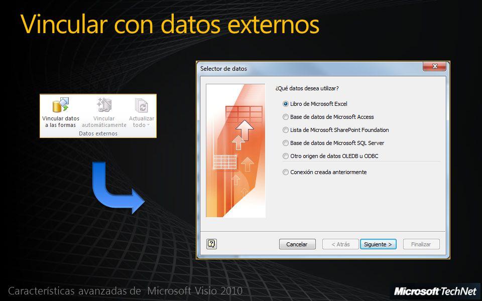 Vincular con datos externos