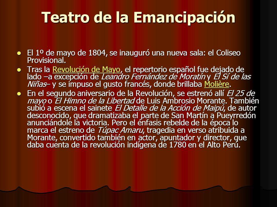 Teatro de la Emancipación